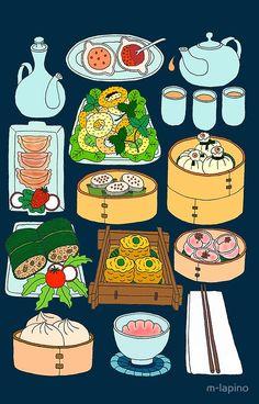 Oriental buffet funny lot of food clipart library 93 Best Dumpling Art images in 2018 | Pattern art, Arabic ... library