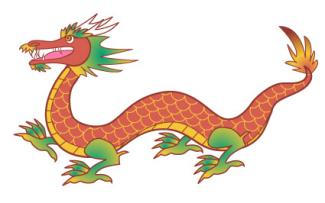 Oriental dragon clipart graphic black and white library Chinese Dragon Clipart & Look At Clip Art Images - ClipartLook graphic black and white library