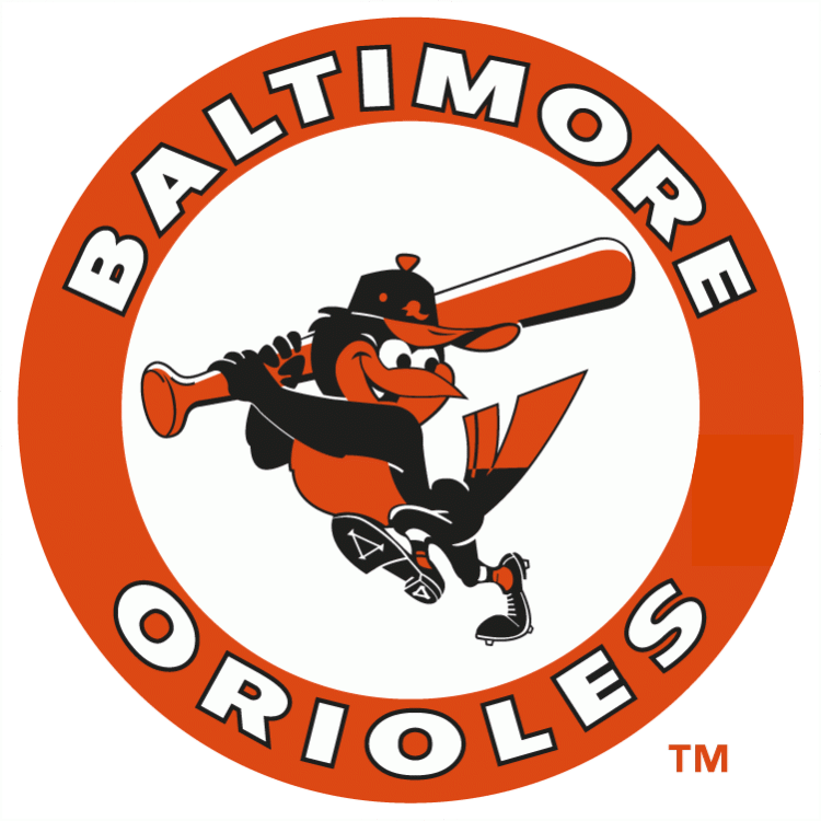 Orioles baseball bat clipart image freeuse library The 30 best logos in American sports | Sports logos, Logos and ... image freeuse library