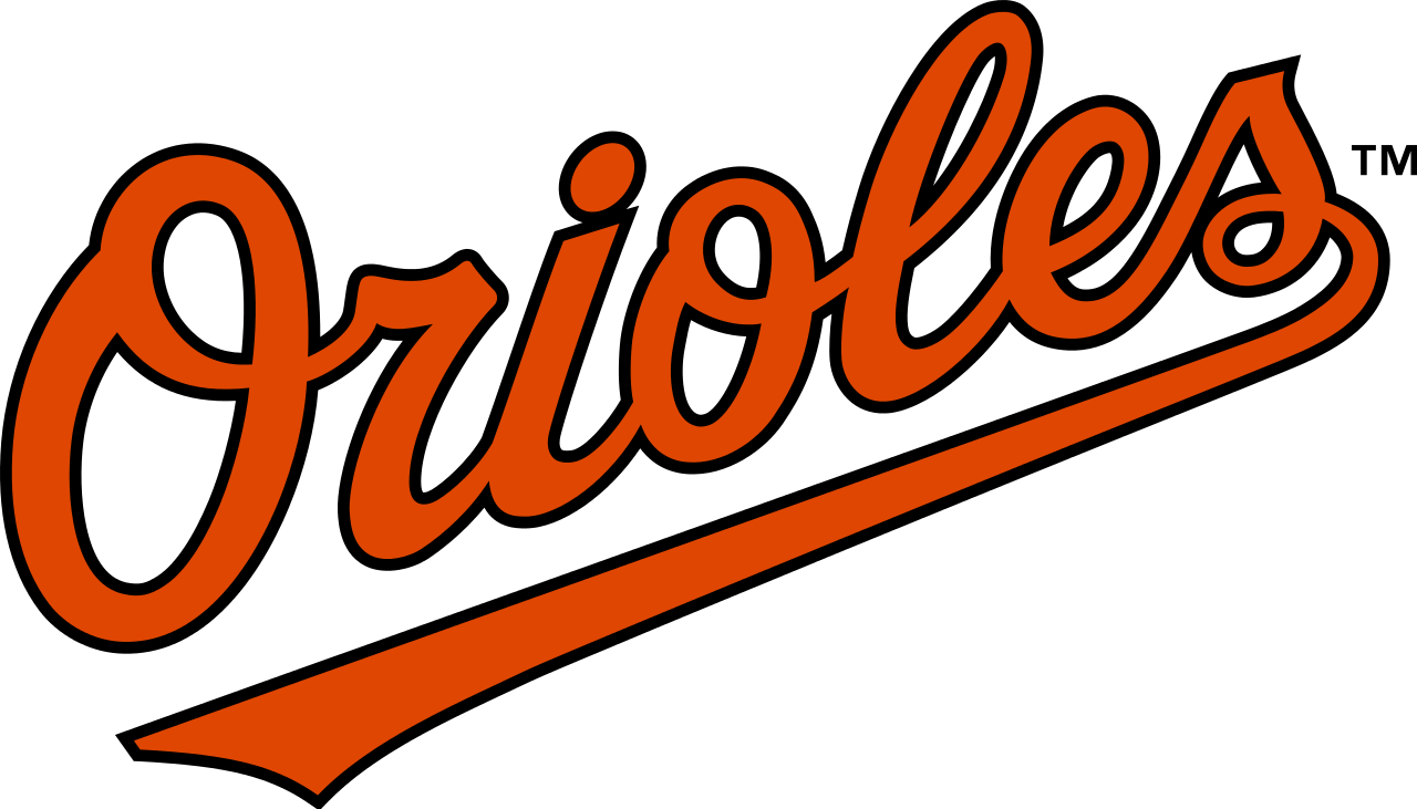Orioles baseball bat clipart svg library Baltimore Orioles Text Logo PNG - PHOTOS PNG svg library