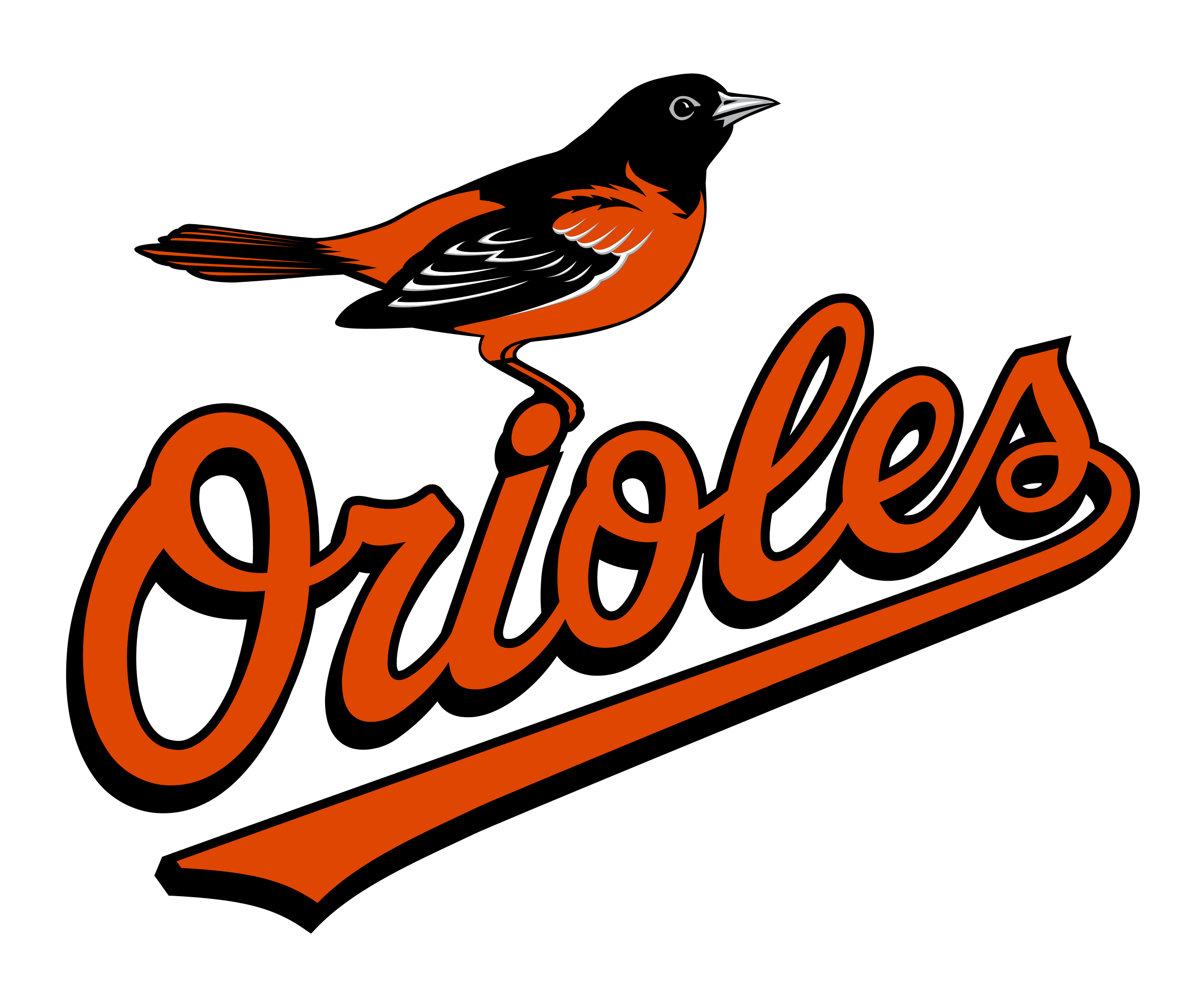 Orioles baseball clipart clip freeuse library Baltimore Orioles Logo PNG Transparent & SVG Vector - Freebie Supply clip freeuse library