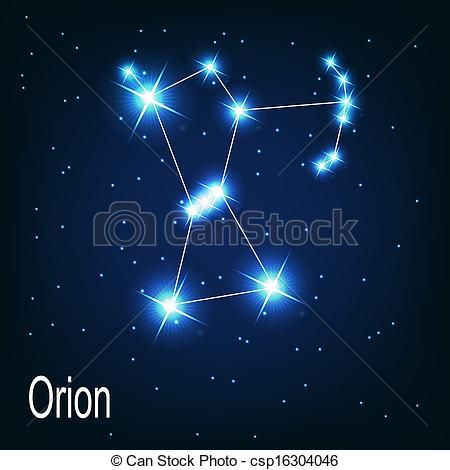 Orion constellation clipart clipart black and white download images of orion the archer clip art | The constellation ... clipart black and white download