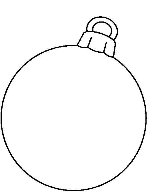 Ornament clipart black and white vector freeuse CHRISTMAS, BLANK ORNAMENT CLIP ART | CLIP ART - CHRISTMAS 1 ... vector freeuse