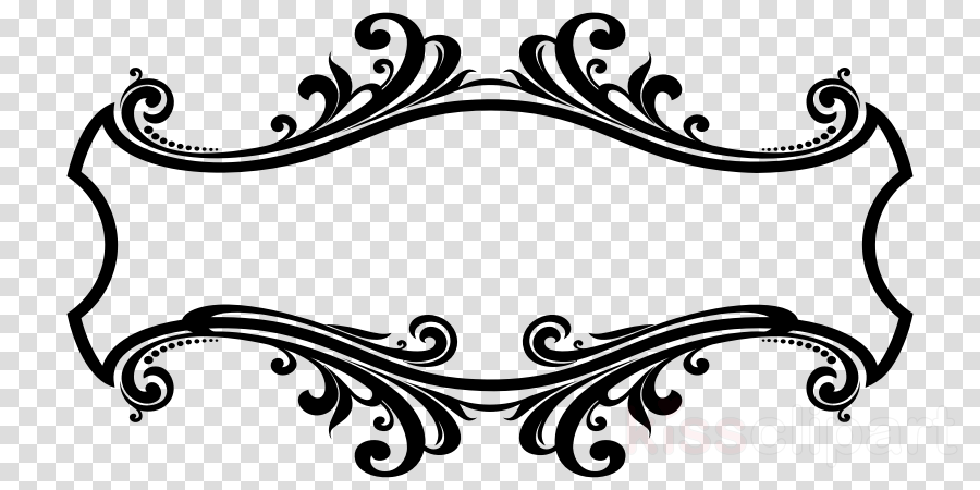 Ornament frame clipart clip freeuse download Download Ornament Frame Png Clipart Decorative Arts - Line Art ... clip freeuse download