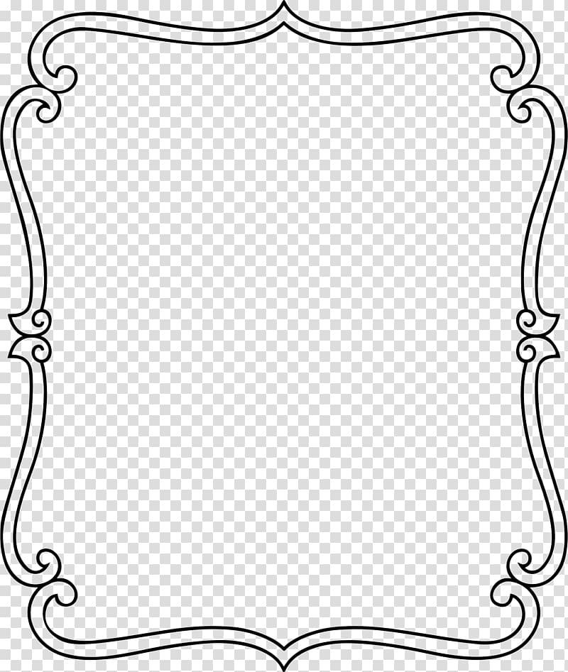 Ornament frame clipart graphic black and white download Black floral illustration, Frames Ornament , frame ornament ... graphic black and white download