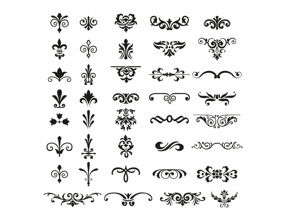 Ornament vector clipart jpg free stock Download Vector Ornaments - Vector Free Ornaments Png Free PNG ... jpg free stock