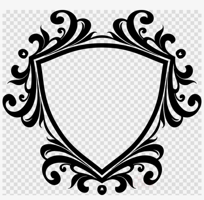 Ornamental clipart banner black and white Clip Art Border Design Clipart Decorative Borders Decorative ... banner black and white