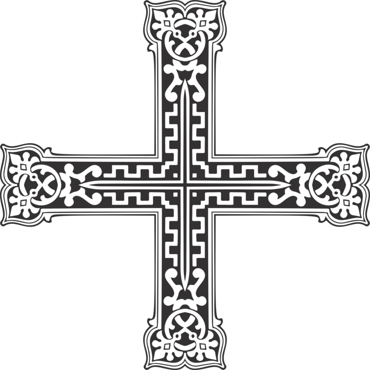 Ornamental cross clipart jpg library Christian cross Computer Icons Ornament Art free commercial clipart ... jpg library