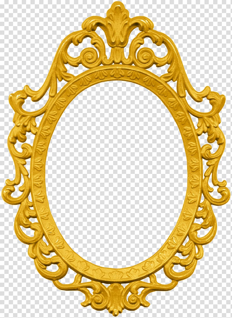 Ornate mirror clipart transparent background png svg royalty free library Oval ornate frame illustration, Frames Magic Mirror Ornament ... svg royalty free library