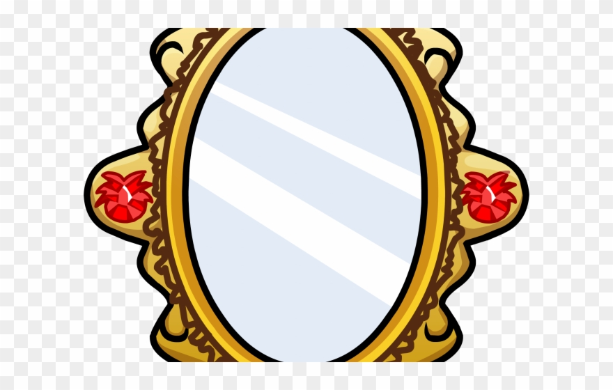 Ornate mirror clipart transparent background png png black and white library Mirror Clipart Ornate Mirror - Mirror Cartoon Transparent ... png black and white library