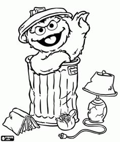 Oscar the grouch clipart in black and white banner free download 97 Best OSCAR THE GROUCH images in 2019 | Oscar the grouch ... banner free download
