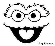 Oscar the grouch clipart in black and white royalty free library Oscar Cliparts | Free download best Oscar Cliparts on ... royalty free library