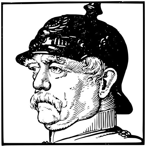Otto von bismarck clipart free Otto von Bismarck lineart - /famous/political/Prussia ... free