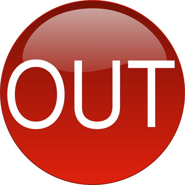 Out clipart jpg freeuse library Red Out Clip Art at Clker.com - vector clip art online, royalty free ... jpg freeuse library