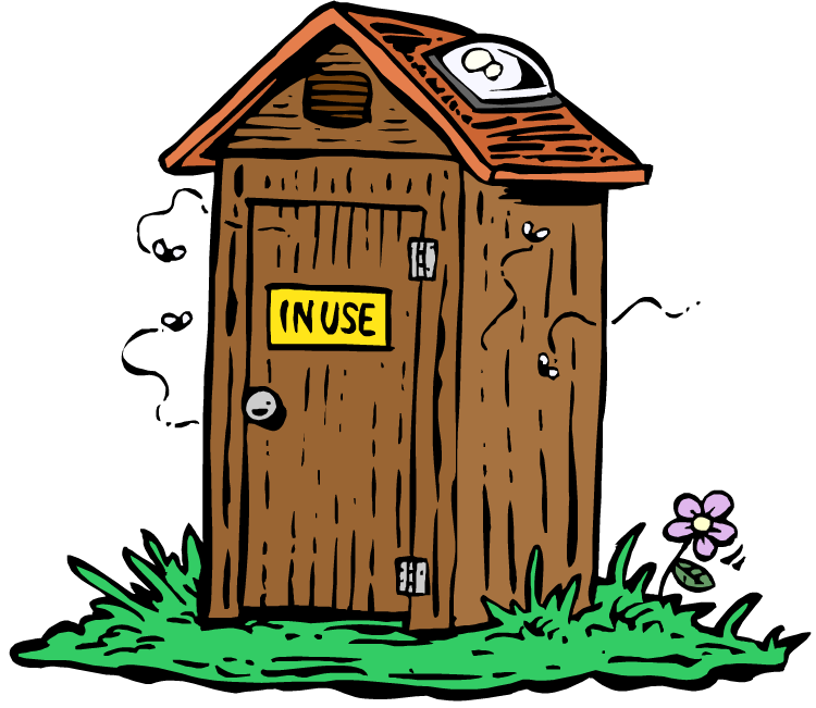 Out house clipart jpg library stock 28+ Collection of Outhouse Clipart Free | High quality, free ... jpg library stock