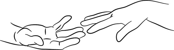Out of hand clipart vector stock Hand reaching out clipart » Clipart Station vector stock
