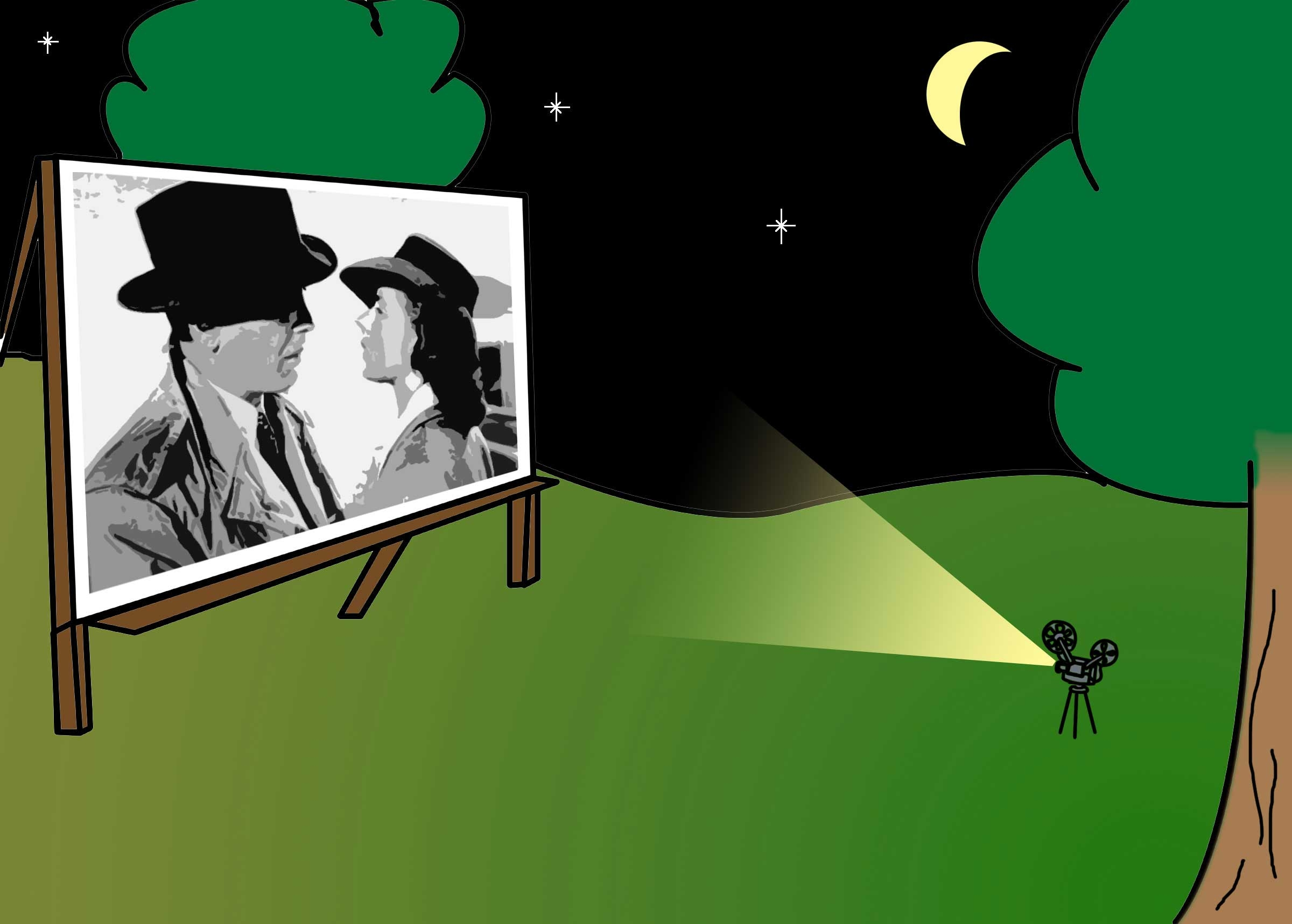 Outdoor movie screen clipart banner library download Free Movie Display Cliparts, Download Free Clip Art, Free ... banner library download