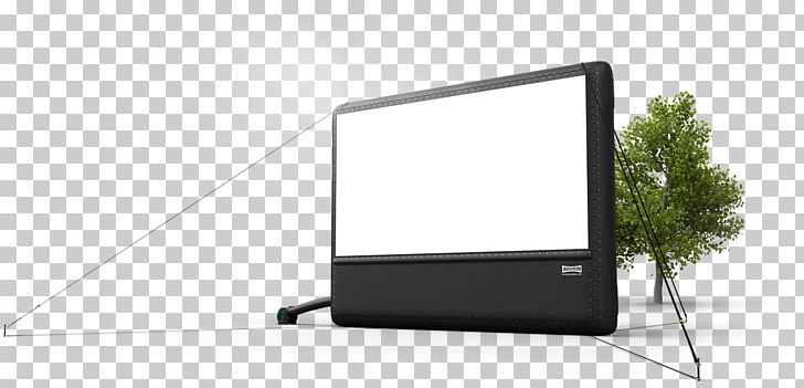 Outdoor movie screen clipart picture library download Computer Monitors Television Projection Screens Inflatable ... picture library download