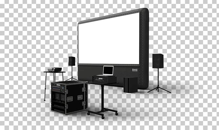 Outdoor movie screen clipart clip black and white Projection Screens Outdoor Cinema Inflatable Movie Screen ... clip black and white