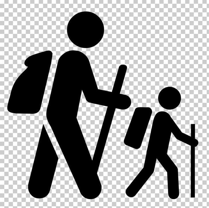 Outdoor recreation clipart black and white stock Hiking Computer Icons Outdoor Recreation PNG, Clipart ... black and white stock