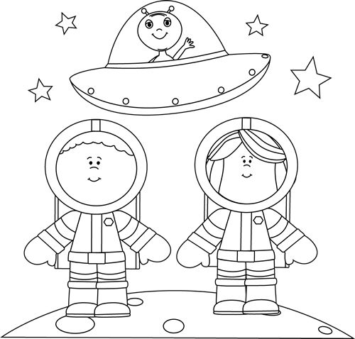 Outer space clipart black and white png transparent stock 92+ Space Clipart Black And White | ClipartLook png transparent stock