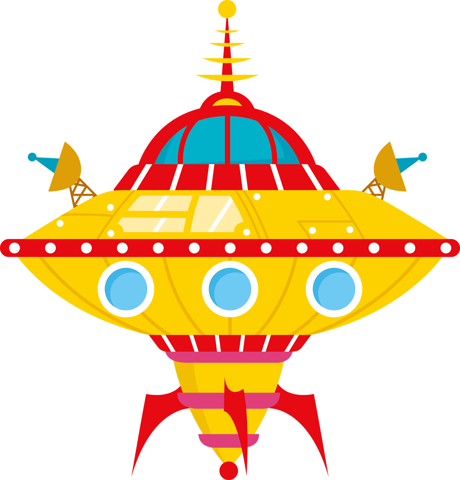 Outer space house clipart image royalty free Aliens, Astronauts, and Spaceships-- HOW FUN!!!! | Clipart ... image royalty free