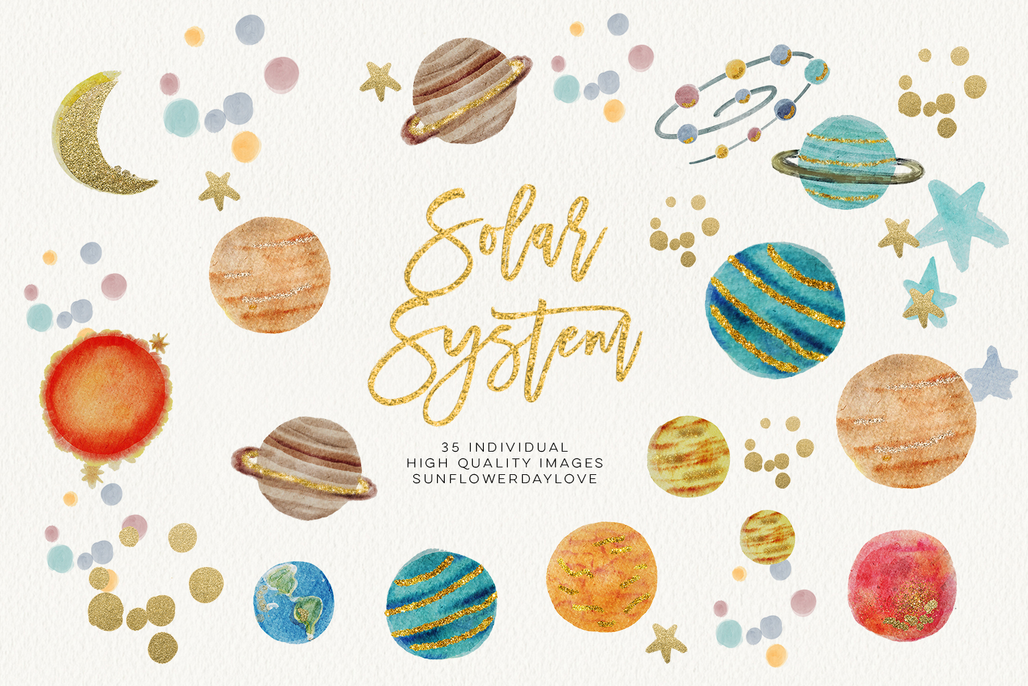Outerspace clipart graphic free download watercolor SOLAR SYSTEM clipart, Outer Space Clipart planets graphic space  clipart scrapbook planet clip art, digital image digital download - Vsual graphic free download