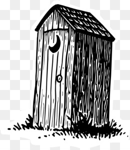 Outhouse pictures clipart vector library stock Outhouse PNG - Cartoon Outhouse. vector library stock