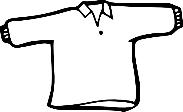Outline clipart svg clip art transparent download Shirt Outline clip art Free vector in Open office drawing svg ... clip art transparent download
