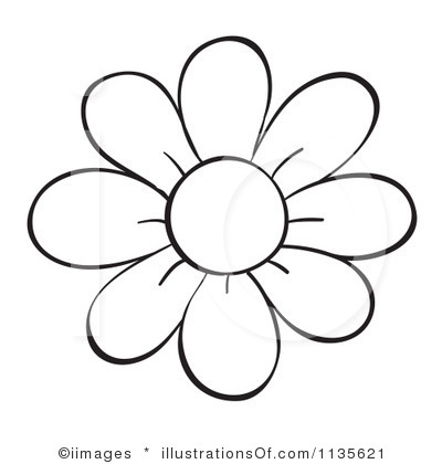 Outline flowers clip art svg freeuse library Flower clip art outline - ClipartFest svg freeuse library