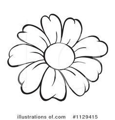 Outline flowers clip art banner free stock Outline flowers clip art - ClipartFest banner free stock