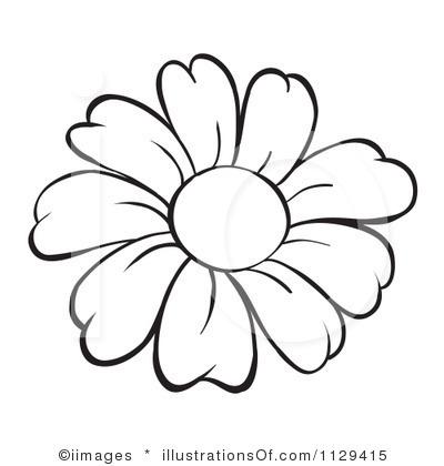 Outline flowers clip art png freeuse Flower Outline Clip Art & Flower Outline Clip Art Clip Art Images ... png freeuse