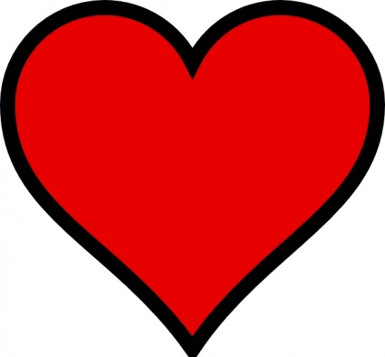 Outline hearts free clipart picture royalty free library Free Heart Image | Free Download Clip Art | Free Clip Art | on ... picture royalty free library