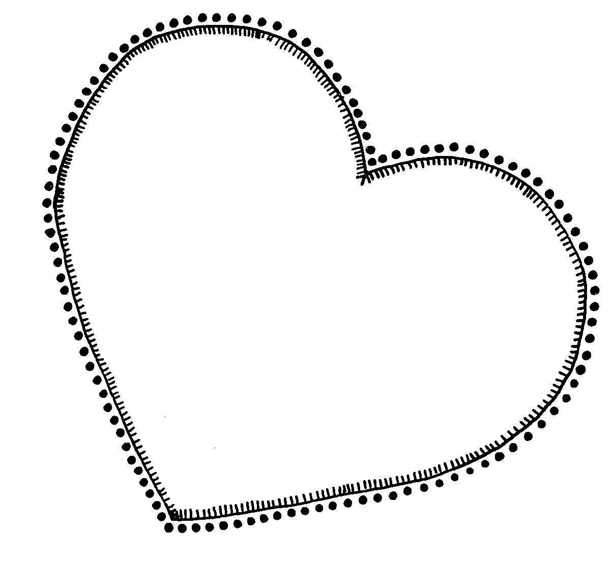 Outline hearts free clipart clipart library stock Clip Art Heart Outline | Clipart Panda - Free Clipart Images clipart library stock
