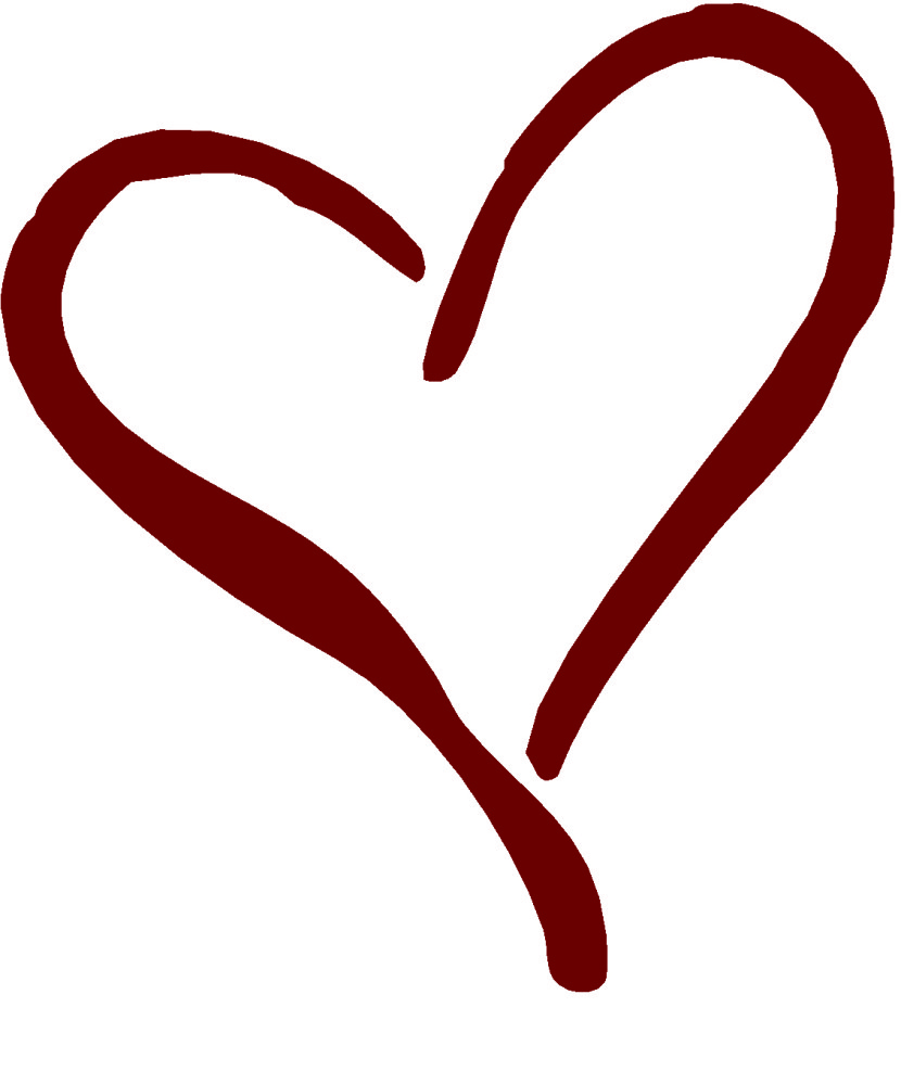 Outline hearts free clipart clipart stock Free heart outline clipart - ClipartFest clipart stock