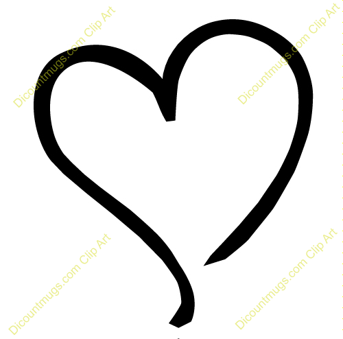 Outline hearts free clipart jpg library stock Outline hearts free clipart - ClipartFest jpg library stock