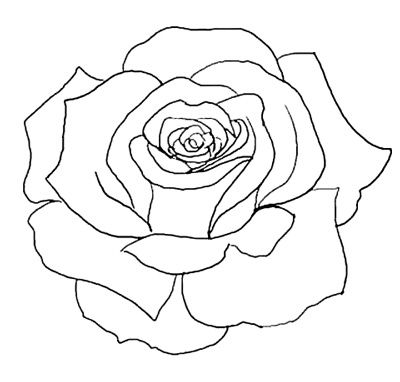 Outline images of flowers graphic download 17 best ideas about Flower Outline on Pinterest | Flower outline ... graphic download
