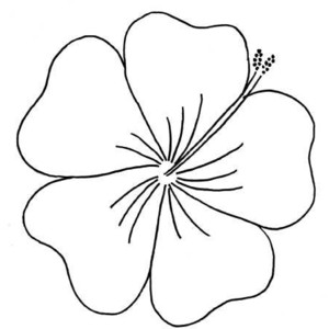 Outline images of flowers image freeuse library Flowers outline images - ClipartFest image freeuse library
