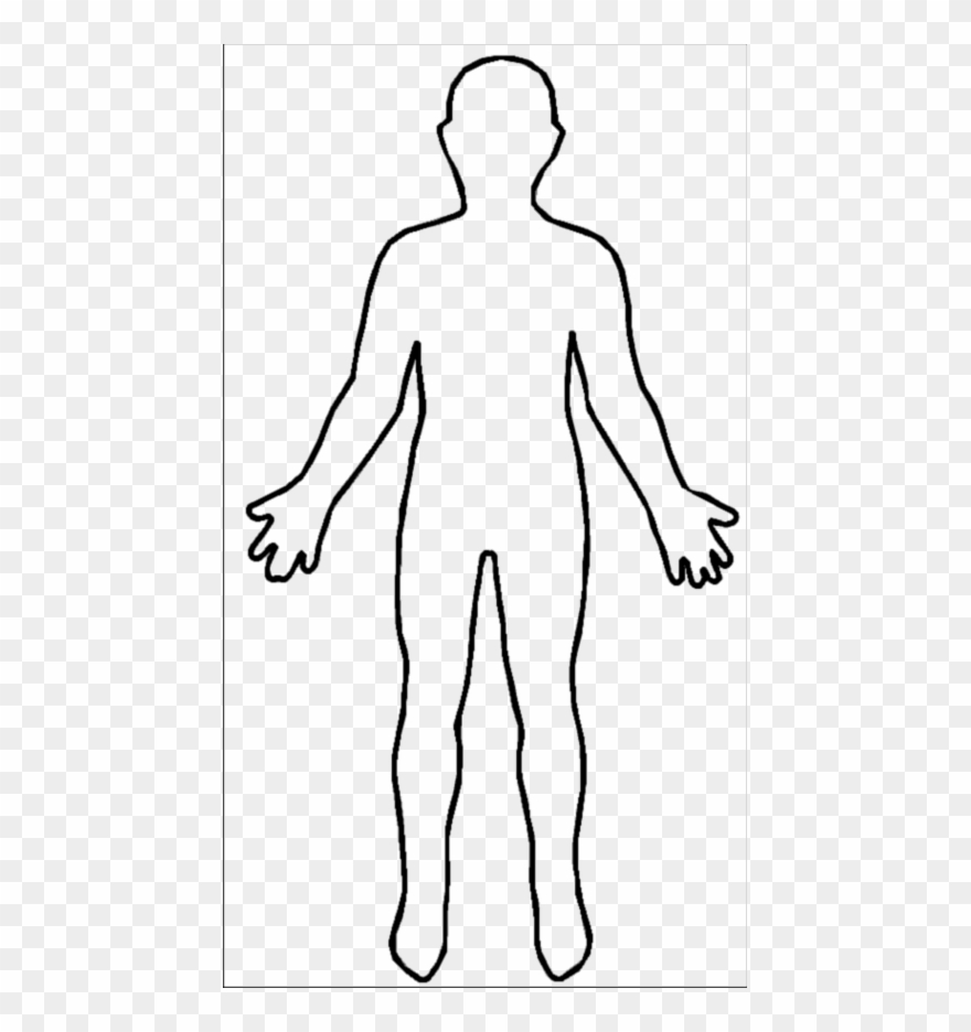 Outline of a body clipart clip art stock Human Body Outline Clipart (#1417295) - PinClipart clip art stock
