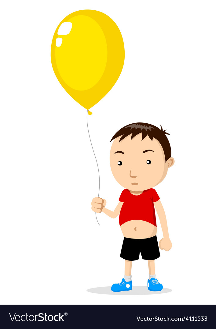 Outline of a child holding balloons clipart picture download Kid Holding A Balloon picture download