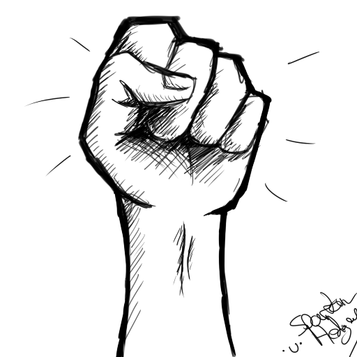 Outline of a hand and pencil drawing clipart clipart stock fist drawing - Google Search   art ♡   Drawings, Drawing ... clipart stock