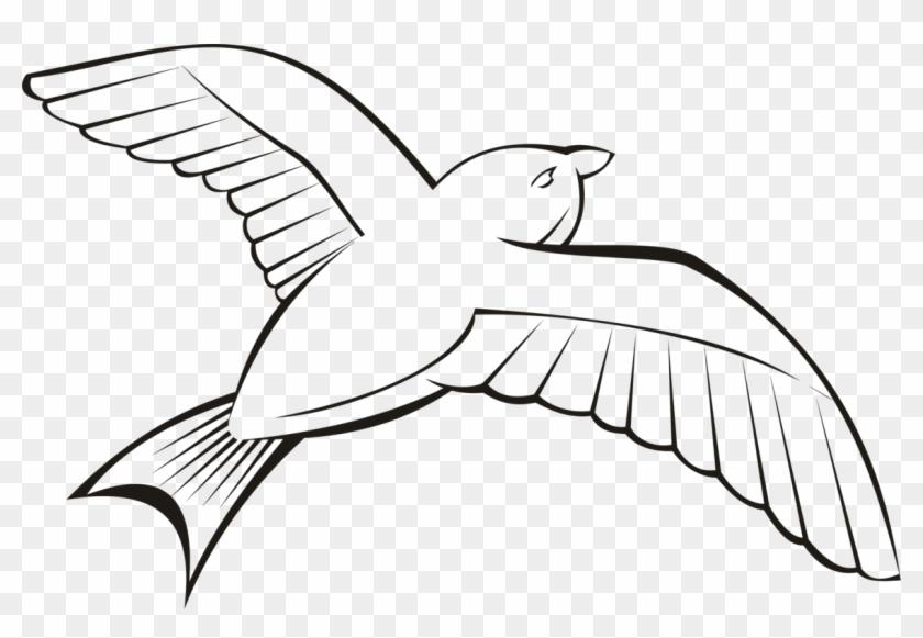 Outline of birds clipart clip free library Bird Beak Flight Wing Penguin - Flying Bird Clipart Outline ... clip free library