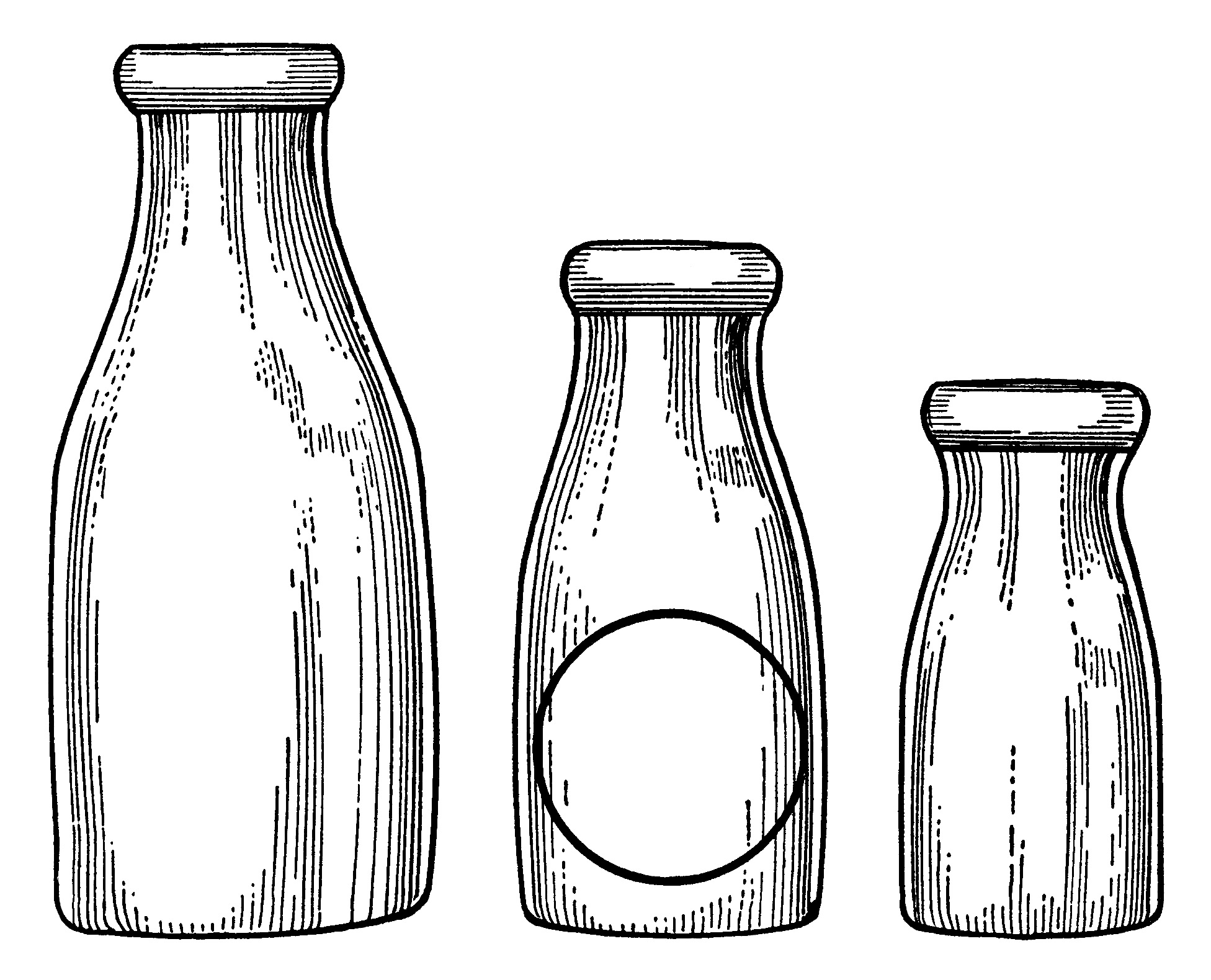 Outline of old fashioned medicine bottle clipart black and white freeuse stock Bottles Clipart | Free download best Bottles Clipart on ... freeuse stock