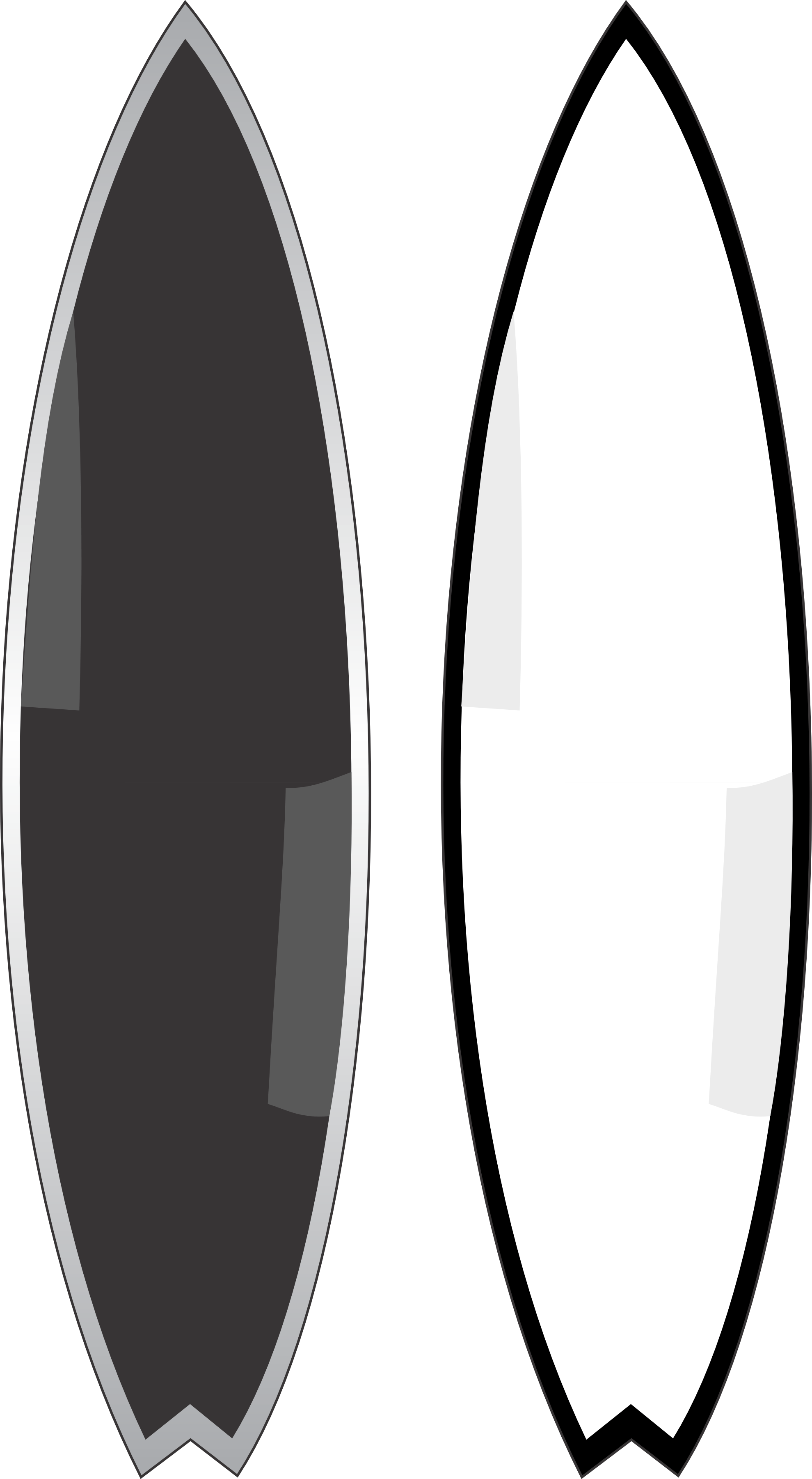 Outline of surfboard clipart clip freeuse stock Surfboard Template. surfboard black and white clipart clipart kid ... clip freeuse stock