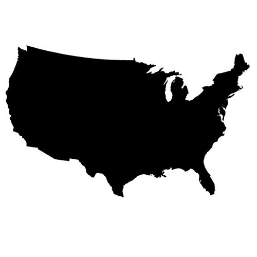 Outline of united states clipart image transparent library Outline Of United States - ClipArt Best image transparent library