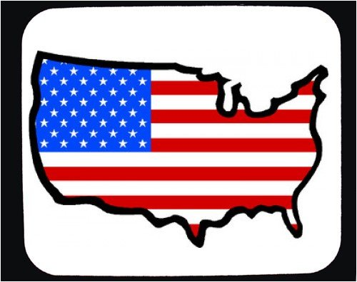 Outline of united states clipart clip art free stock Outline Map Of The United States Of America - ClipArt Best clip art free stock