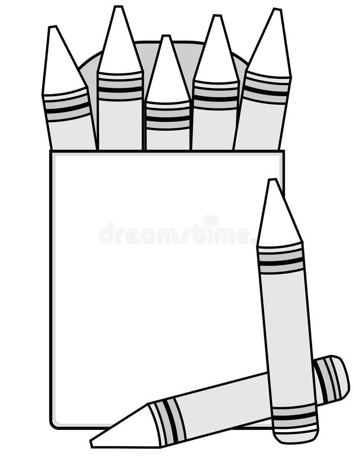 Outlinecrayon clipart transparent stock Crayon outline clipart 2 » Clipart Station transparent stock