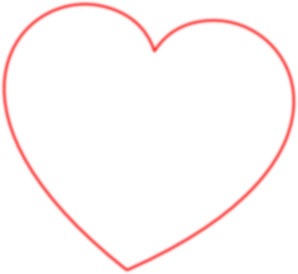 Outlined cross heart clipart picture freeuse download Red Heart Outline | Free Download Clip Art | Free Clip Art | on ... picture freeuse download