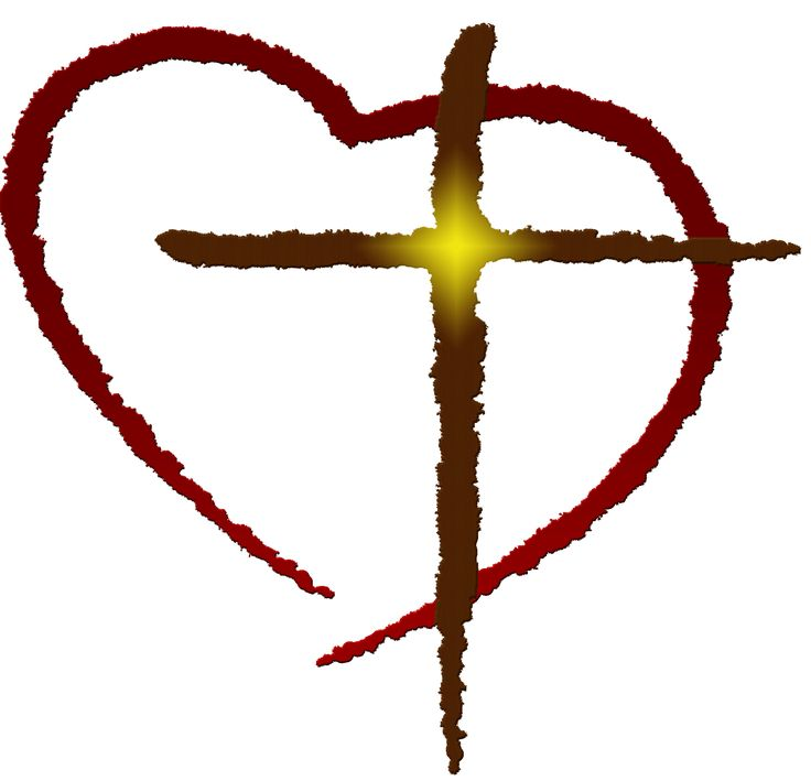 Outlined cross in heart clipart clipart library download The cross clipart ideas on easter images 6 - ClipartPost clipart library download