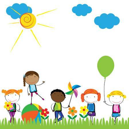 Outside clipart graphic library stock Kids playing outside clipart 1 » Clipart Portal graphic library stock